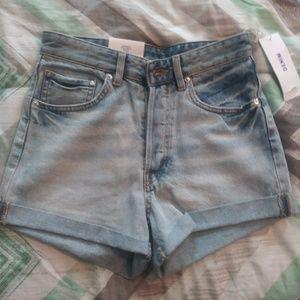 NWT H&M · High waisted shorts